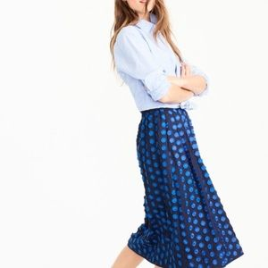 Jcrew Dot Skirt M